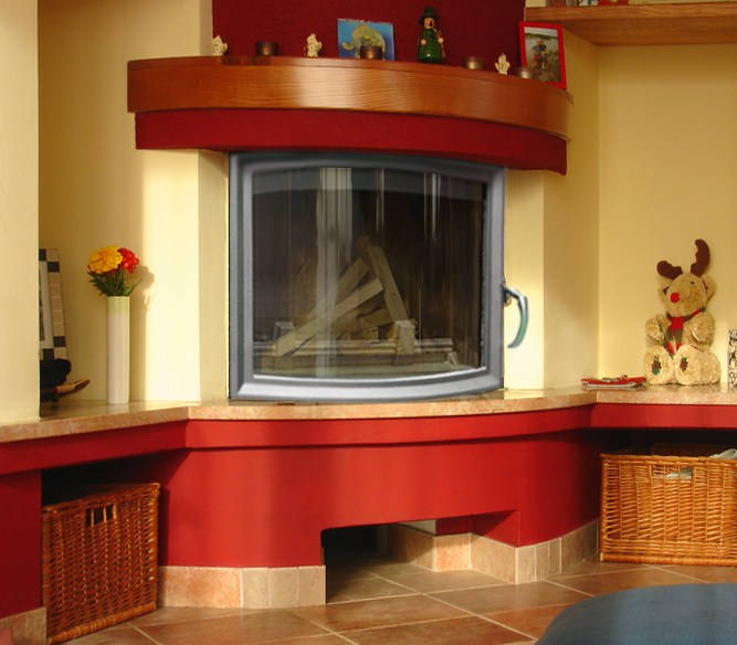 Hestia PANORAMIC GLASS Insert Boiler Stove